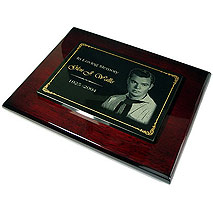 Granite & RoseWood Piano Finish Plaques