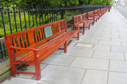 Photo Memorial Plaques for Benches