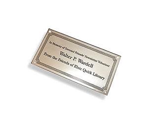 Dedication Plaques For Benches | LaserEngravedMemories.com