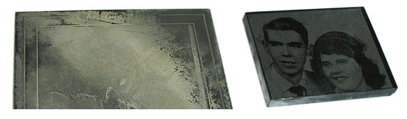 Marble or Granite for Laser Photo Engraving?