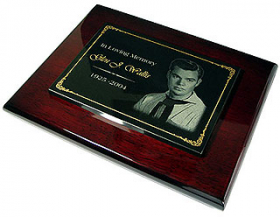 Granite Rosewood Plaque 3 Small