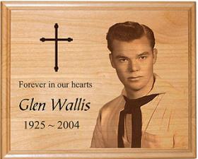 Wood Memorial Plaque