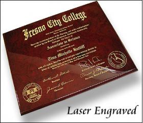 Piano Finish Diploma Plaque