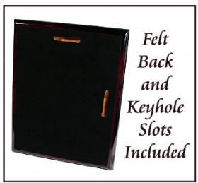 Metal Diploma Plaque Back Side