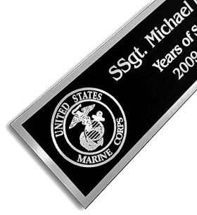 Aluminum Name Plates and Plaques