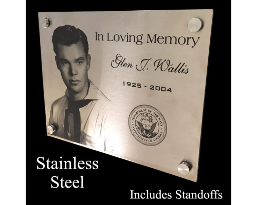 Metal Wall Plaque Custom Size