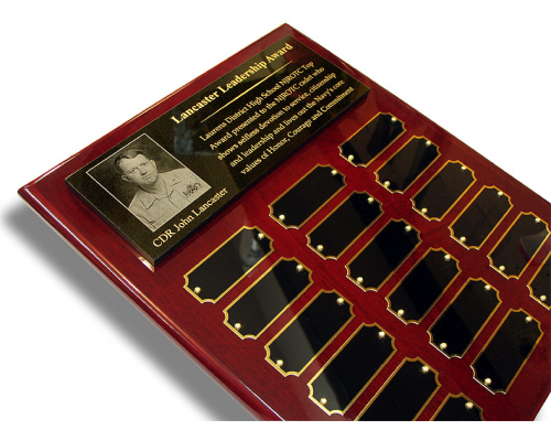 Perpetual Dedication Plaque with photo