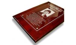 acrylic laser engraving